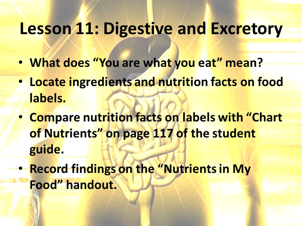 what does nutrition mean to you Nutrition 6 essential nutrients what is nutrition what does nutrition mean to you do you have good nutrition rate yourself on a scale of 1 to 10.