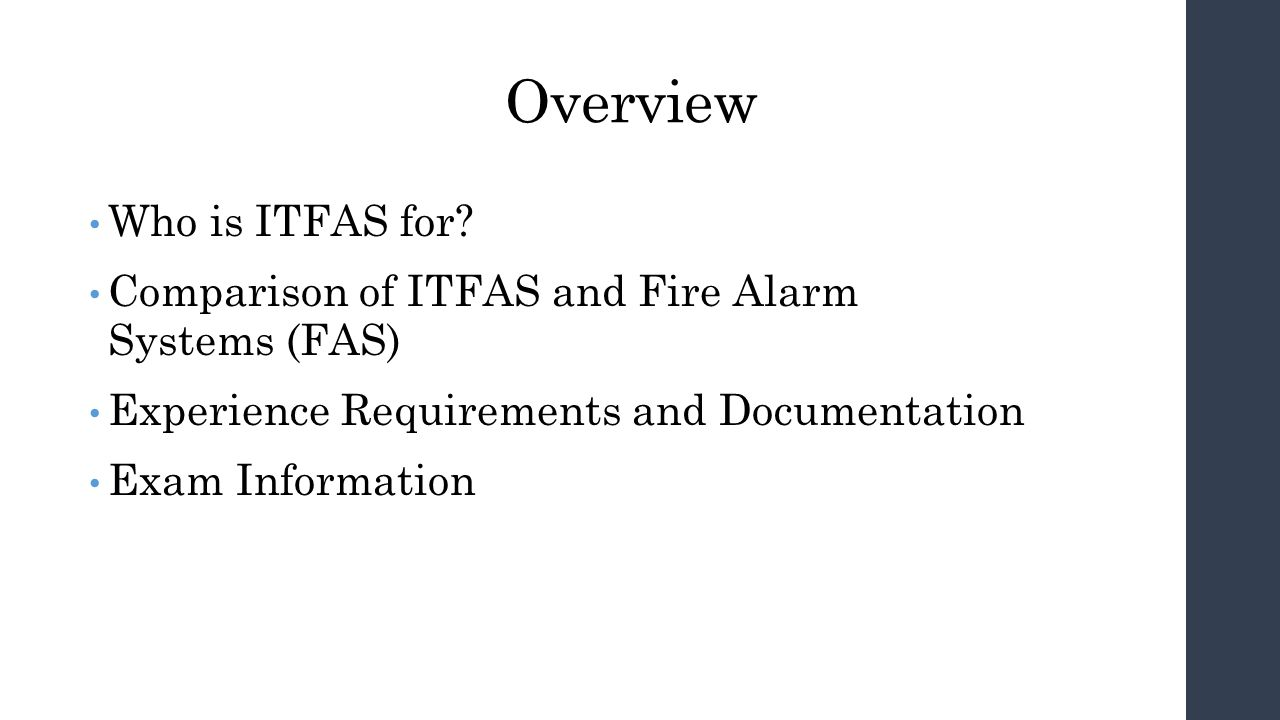 Inspection and Testing of Fire Alarm Systems (ITFAS) - ppt video ...