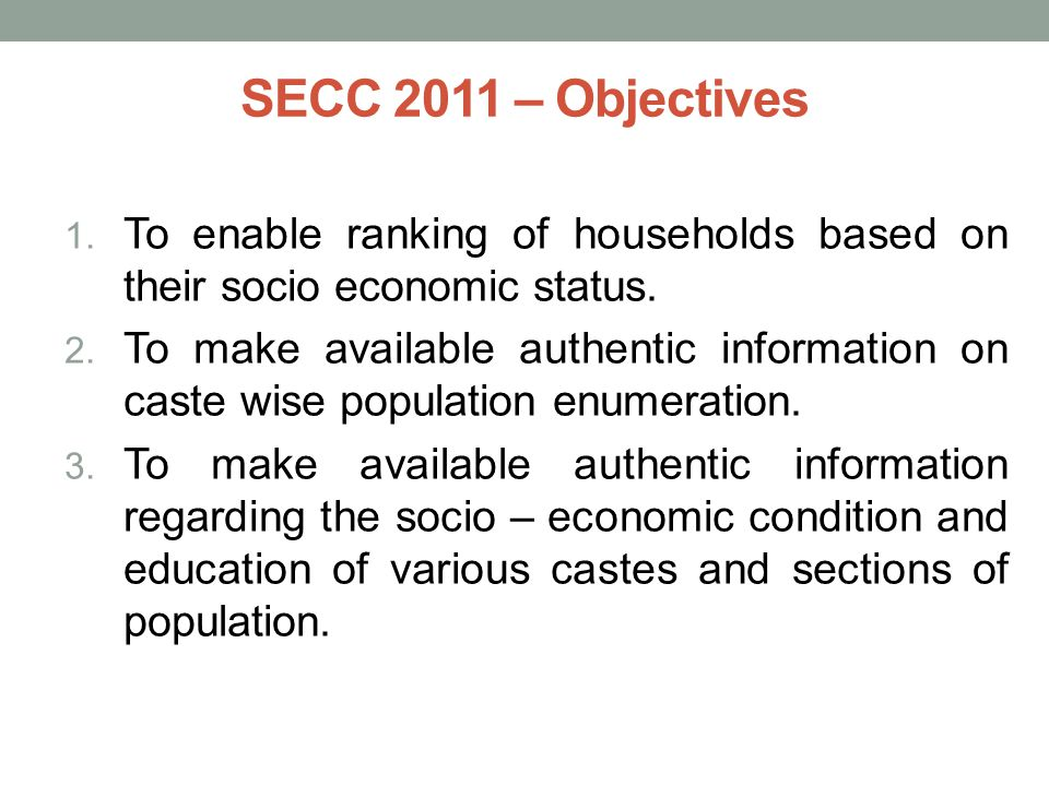 Socio Economic And Caste Census Ppt Video Online Download - Highest population caste in world