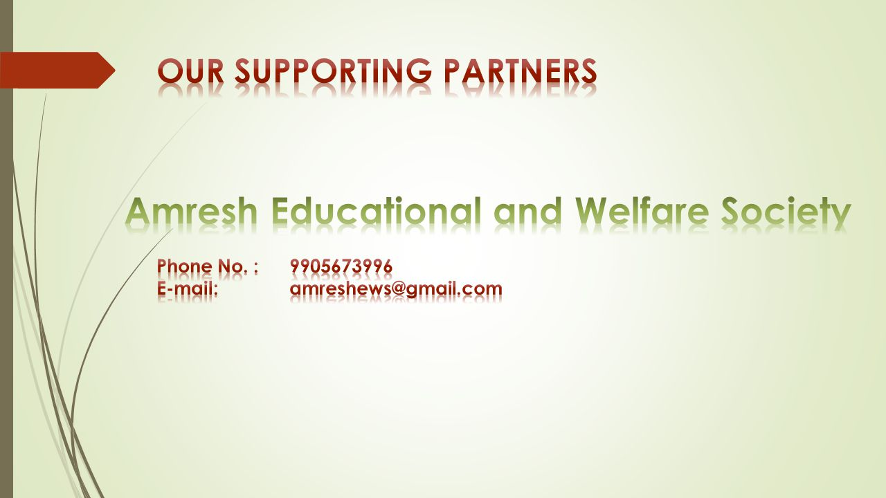 Amresh Educational and Welfare Society