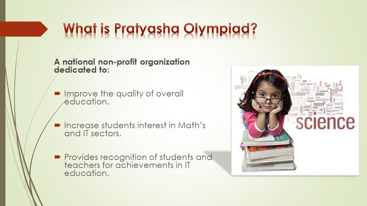 What is Pratyasha Olympiad