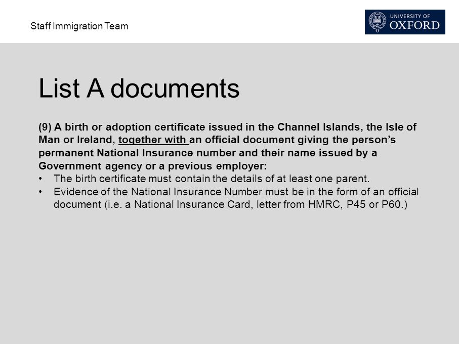 Apply for a National Insurance Number - Online NI Number ...