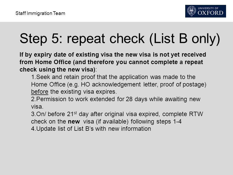 Right to Work Checks Staff Immigration Team - ppt download
