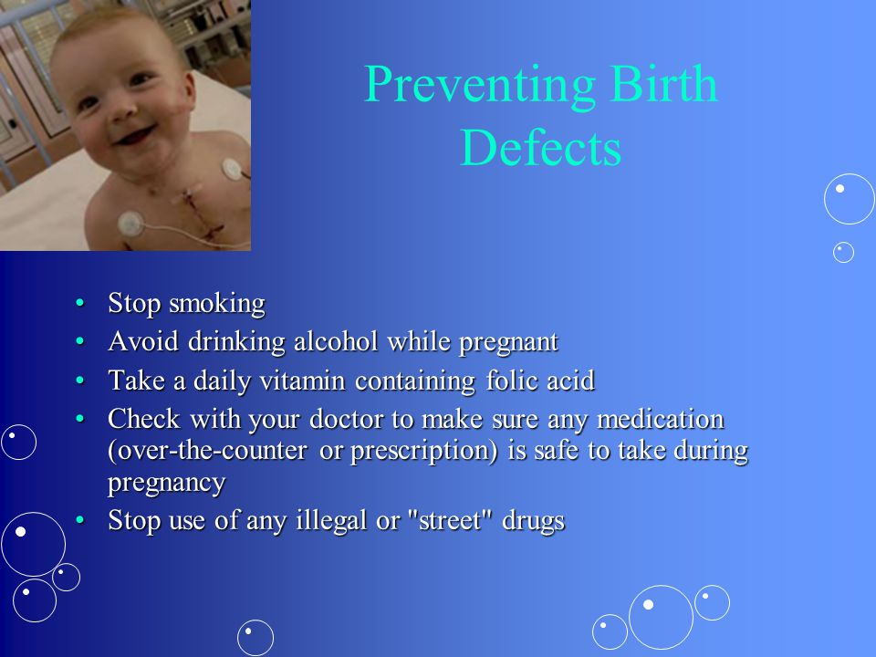 Preventing Birth Defects