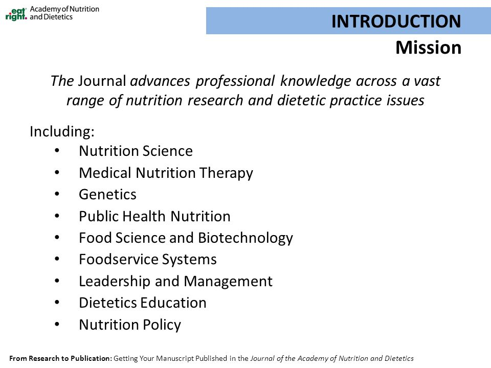 Thesis topics on nutrition and dietetics