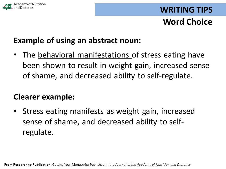 how to write a 50 word abstract