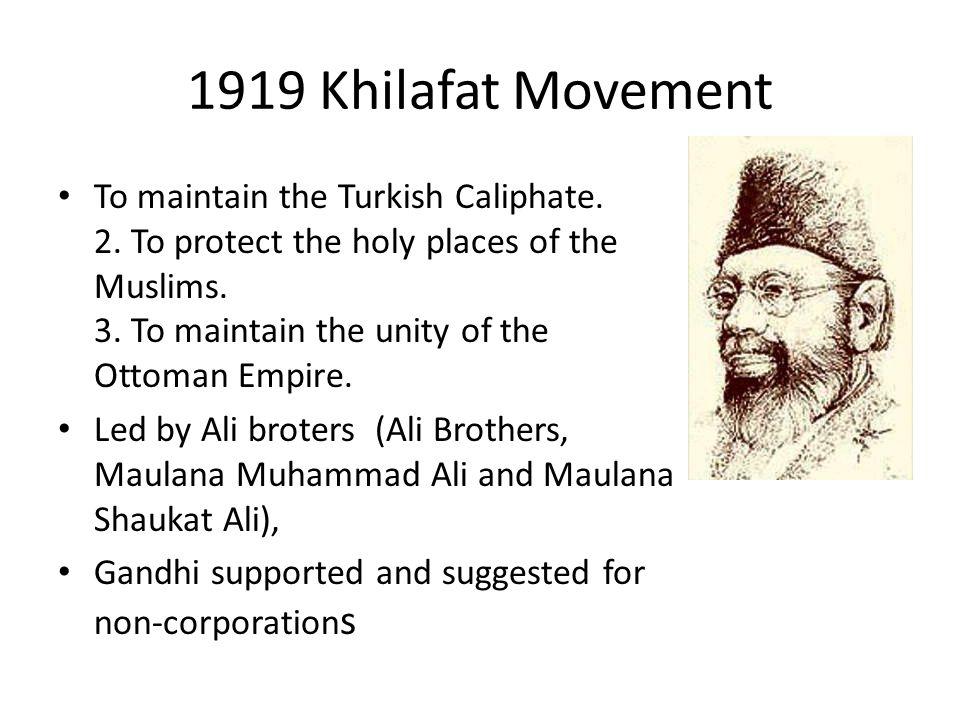 1919 Khilafat Movement