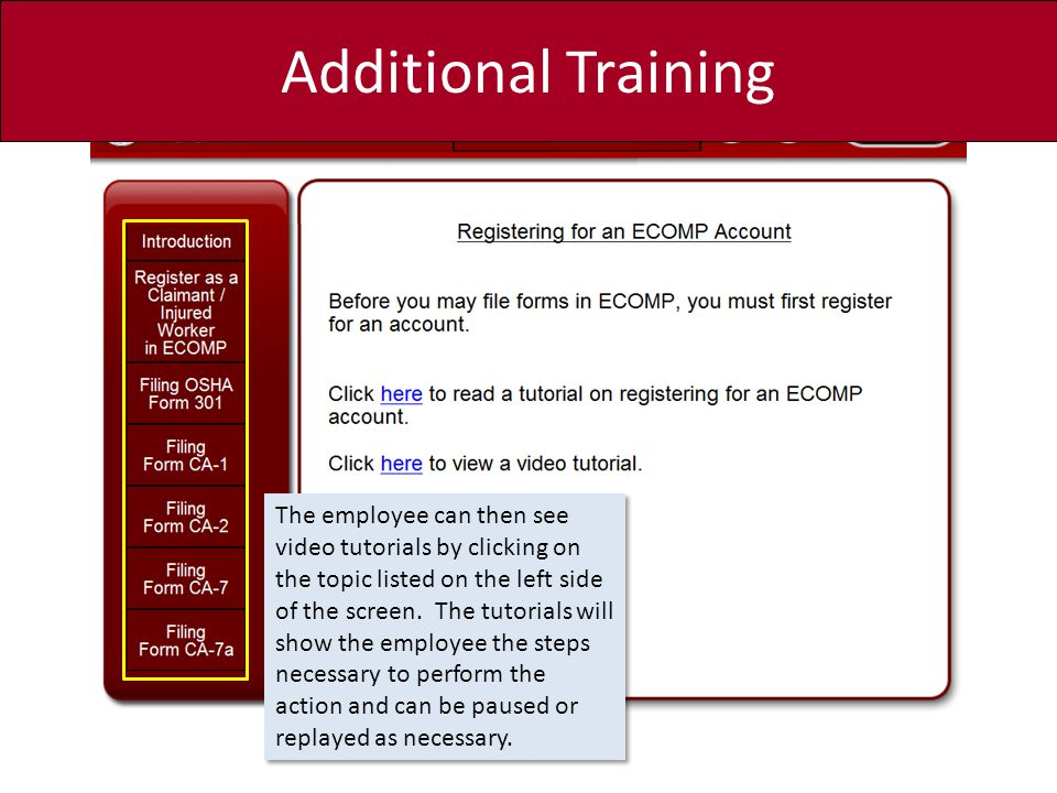 ECOMP For National Guard Technician Employees - ppt download
