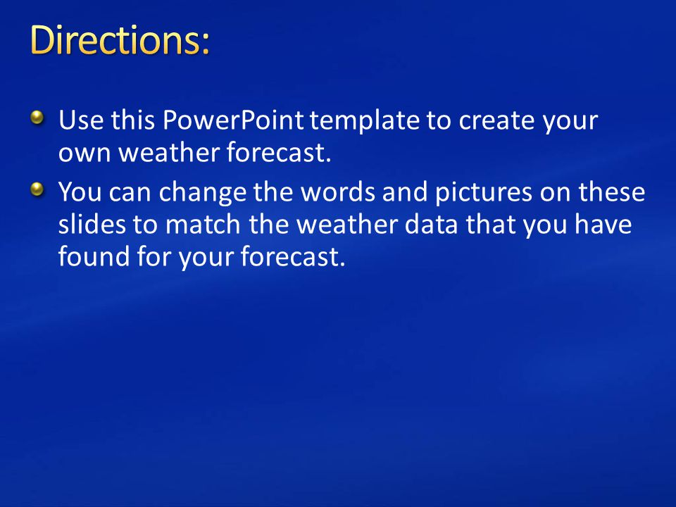 Powerpoint templates weather images powerpoint template for How to design your own powerpoint template