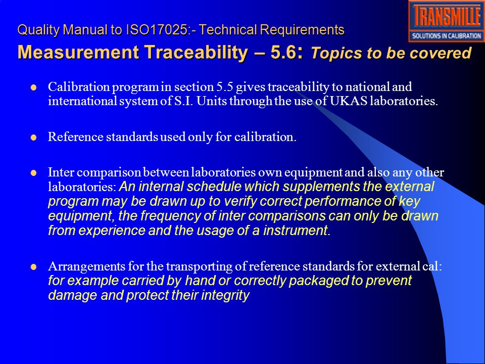 iso 17025 quality manual template