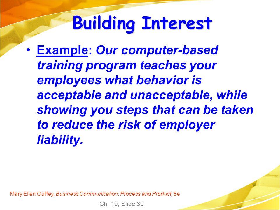Building Interest