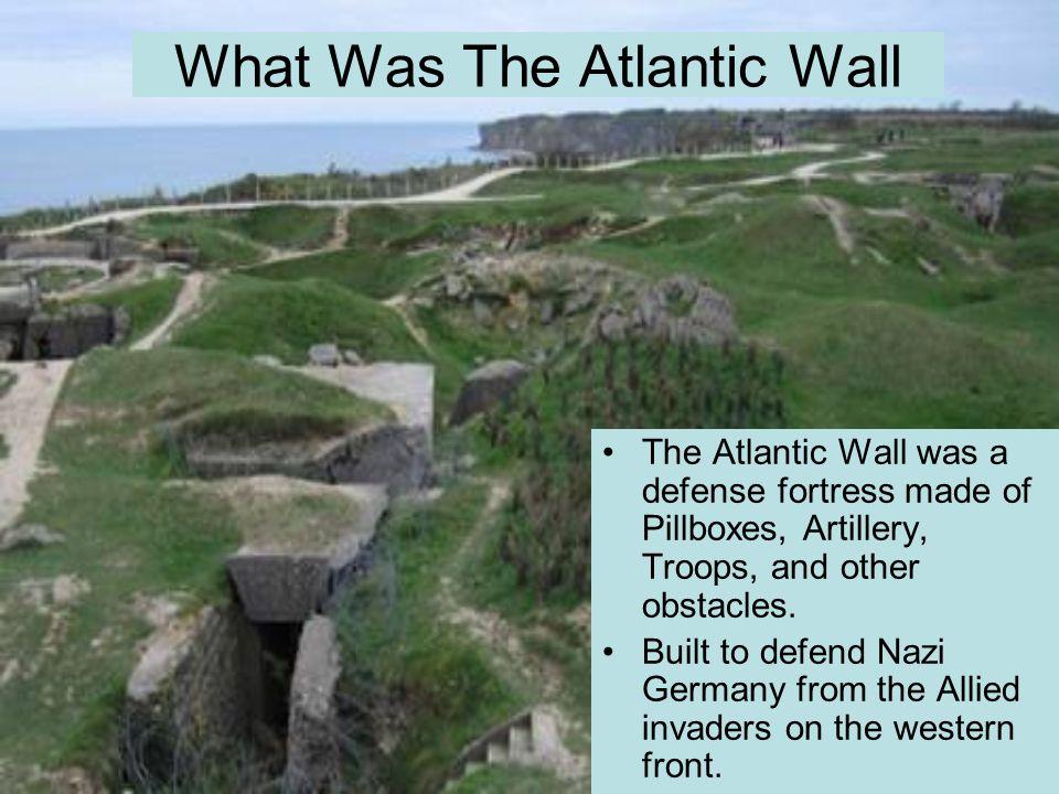 allies breaking atlanticc wall
