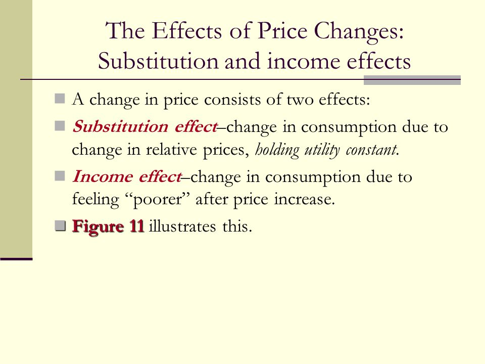 7 3 income and substitution effects
