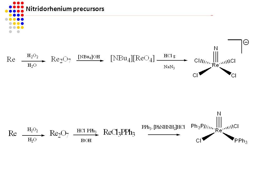 Nitridorhenium precursors