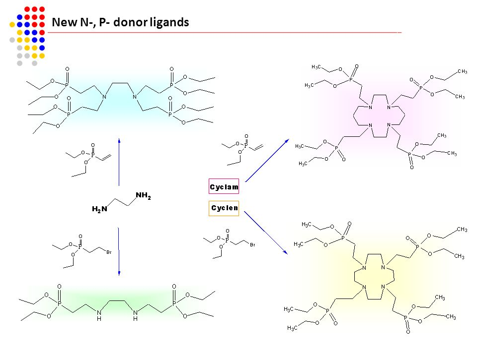 New N-, P- donor ligands 34