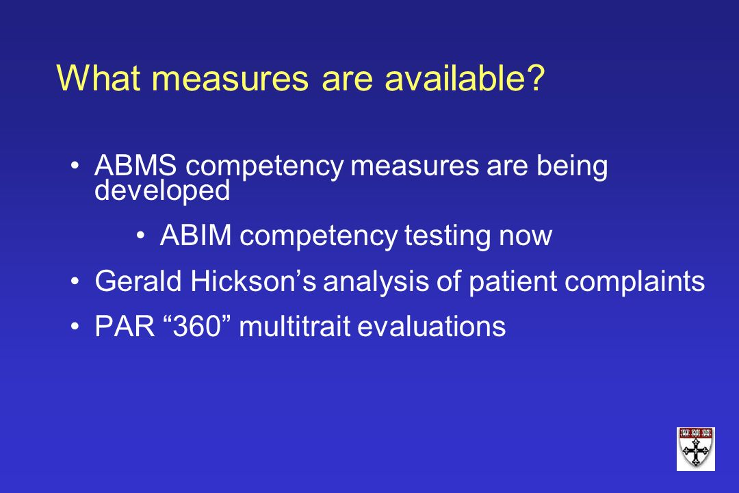 What measures are available