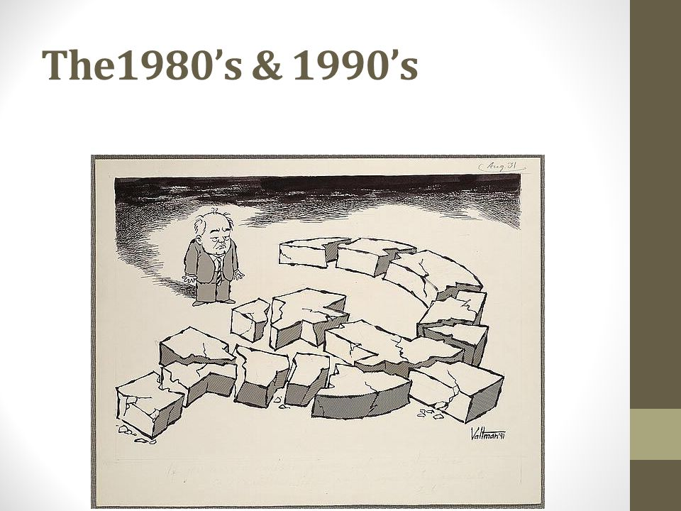 The1980's & 1990's