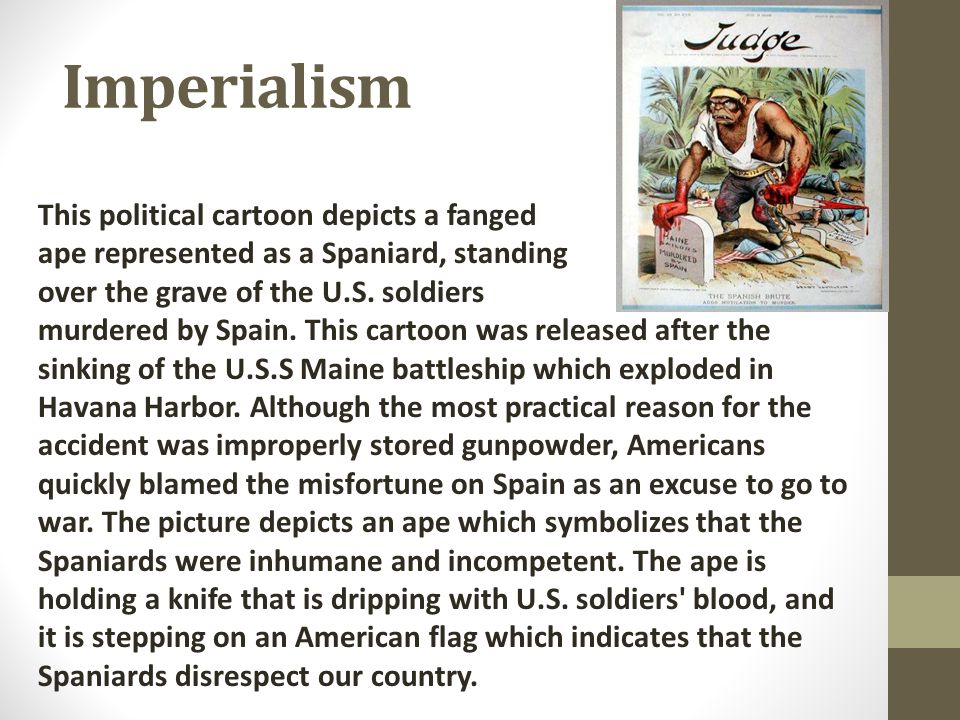 An analysis of most of the appeal of imperialism
