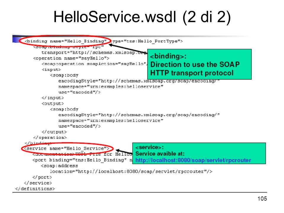 HelloService.wsdl (2 di 2)