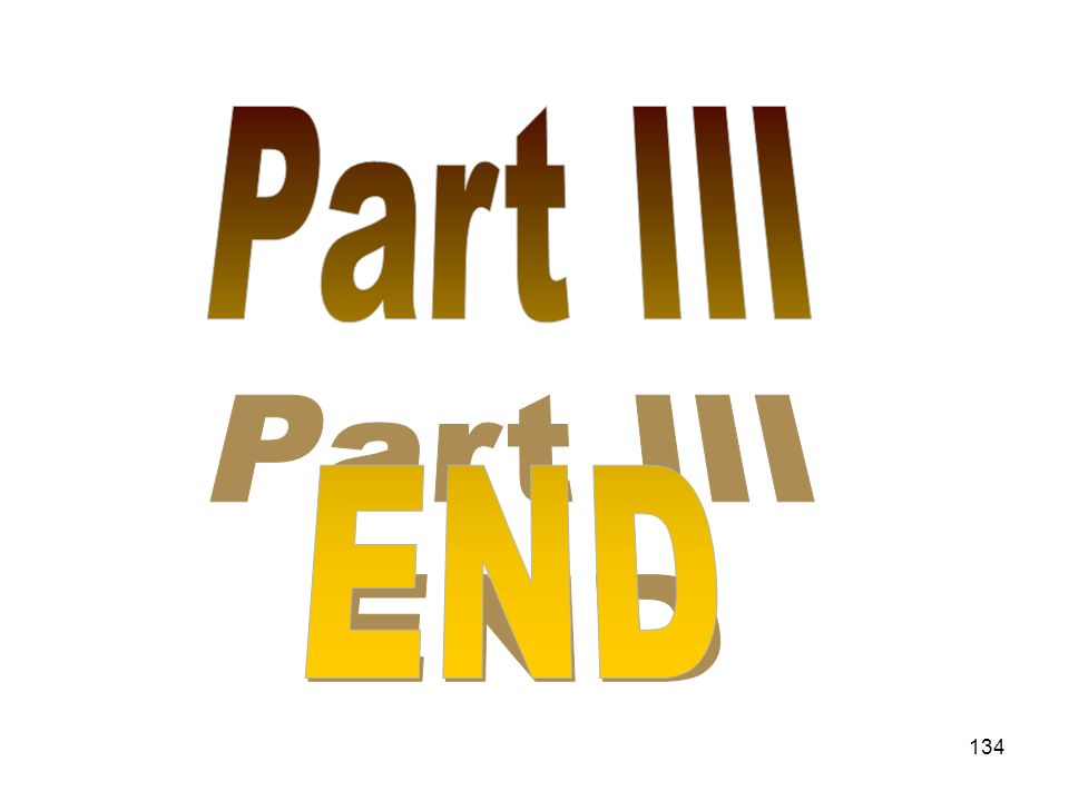 Part III END