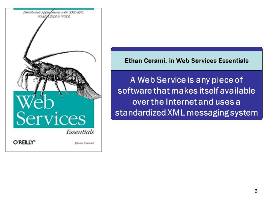 Ethan Cerami, in Web Services Essentials