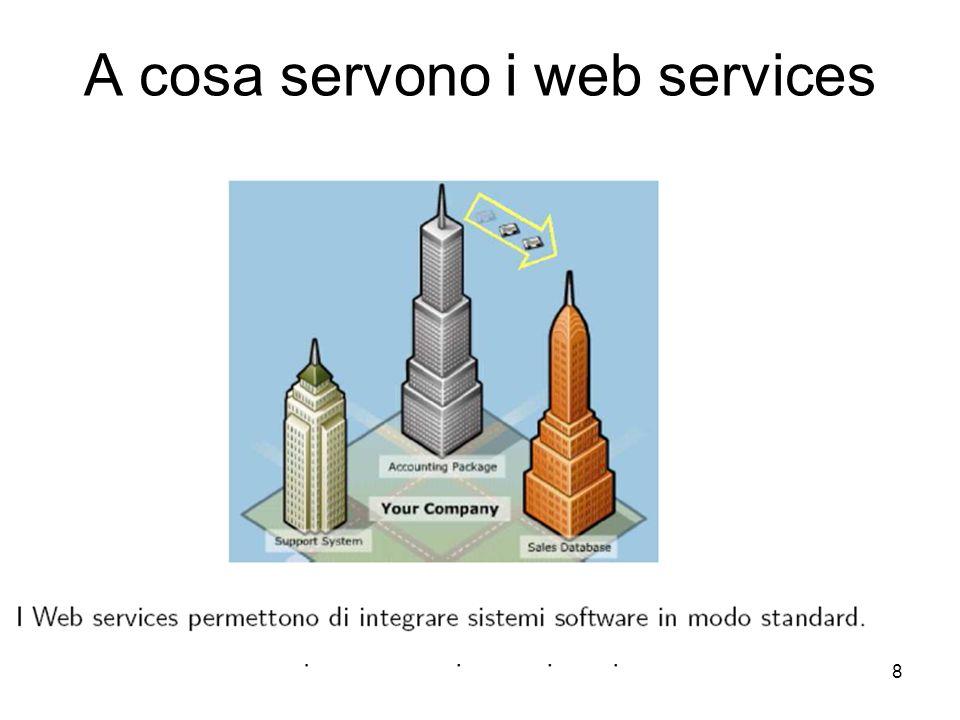 A cosa servono i web services