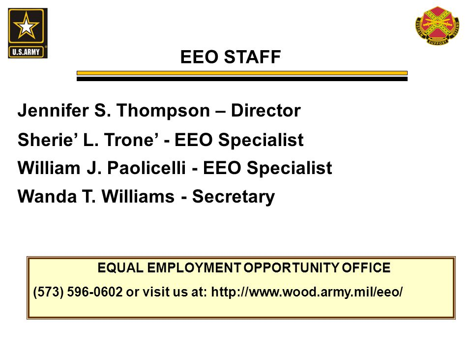 WHAT EMPLOYEES NEED TO KNOW ABOUT EQUAL EMPLOYMENT OPPORTUNITY ...
