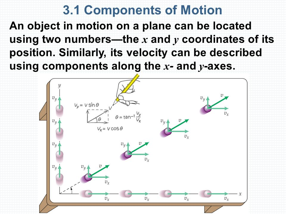 3.1 Components of Motion
