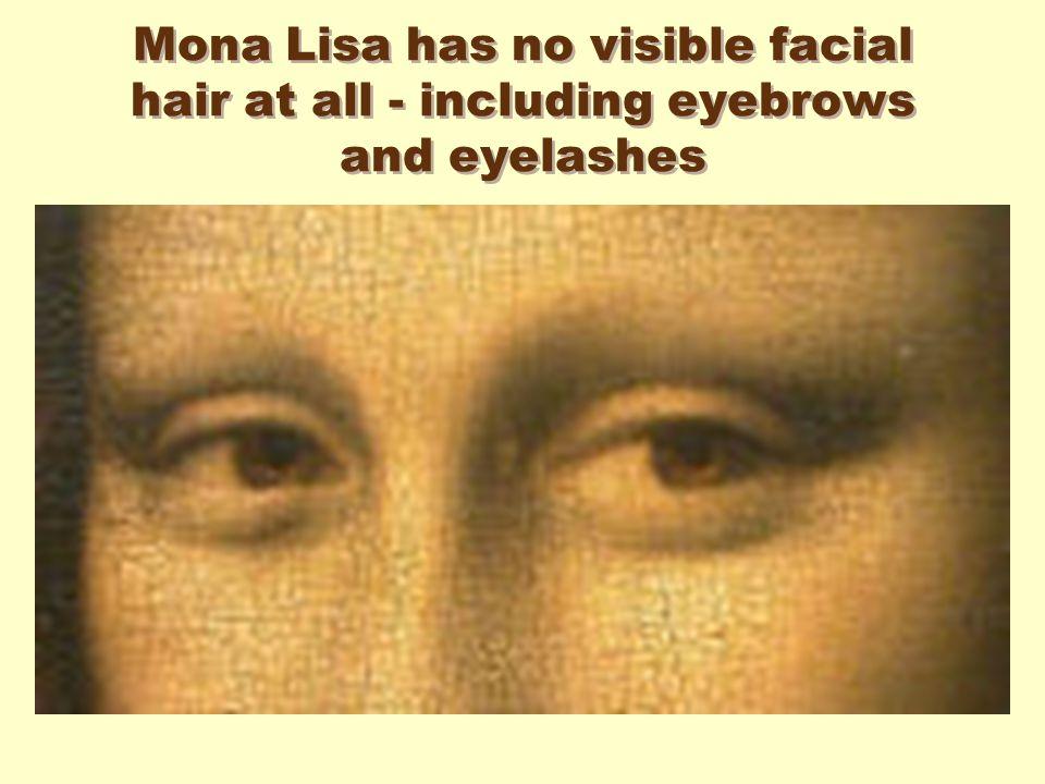 Mona Lisa With Eyebrows And Eyelashes Industrifo