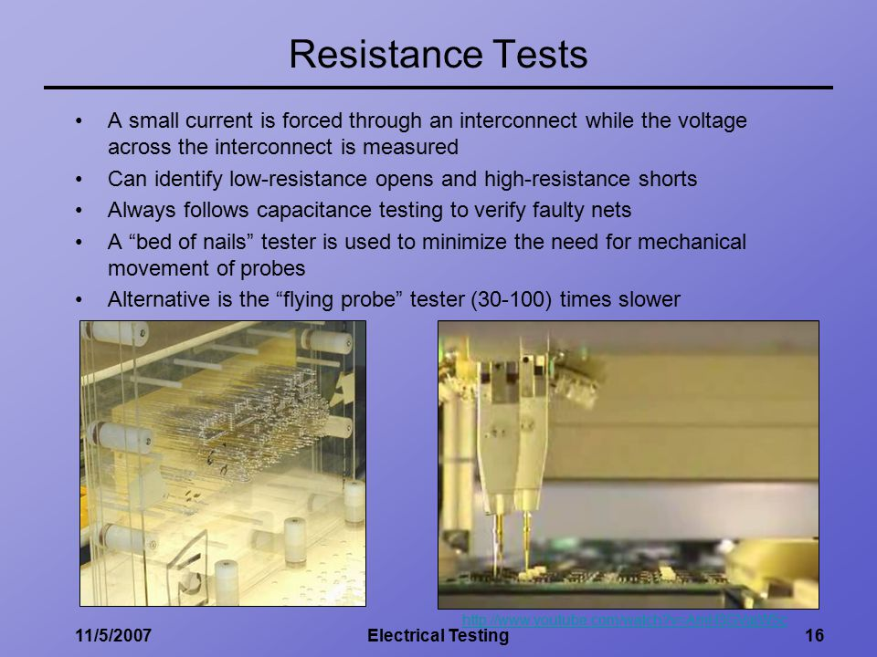 Resistance Tester Through Materials : Fundamentals of electrical testing ppt video online download