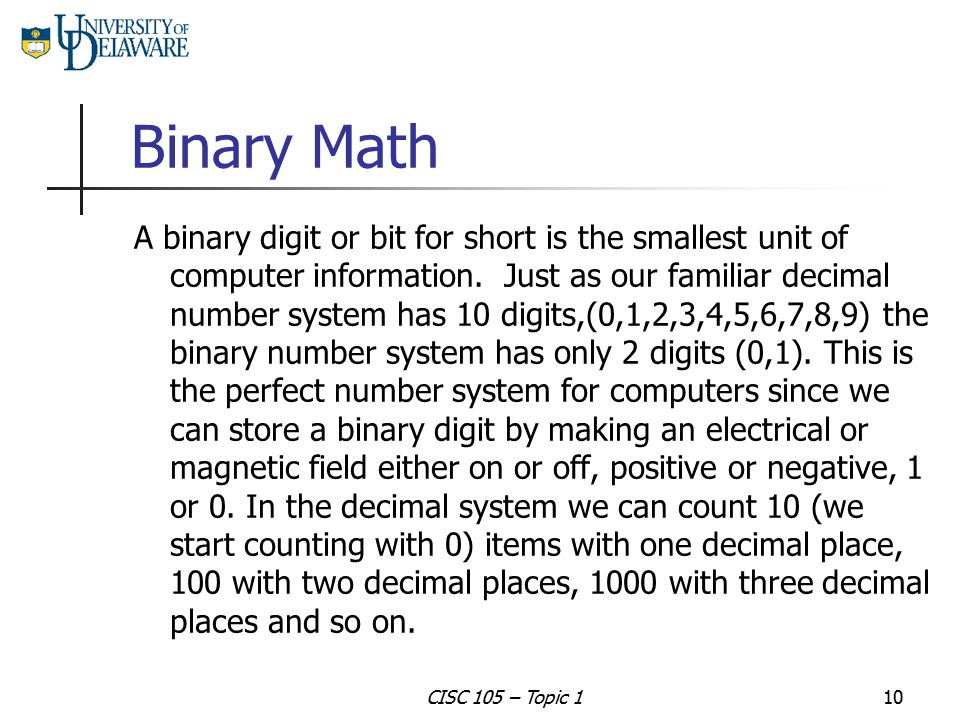 Binary Math