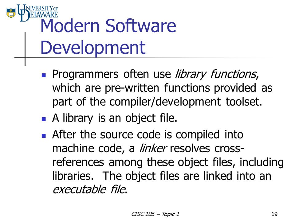 Modern Software Development