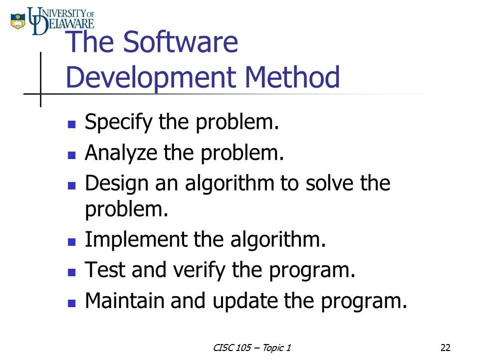 The Software Development Method