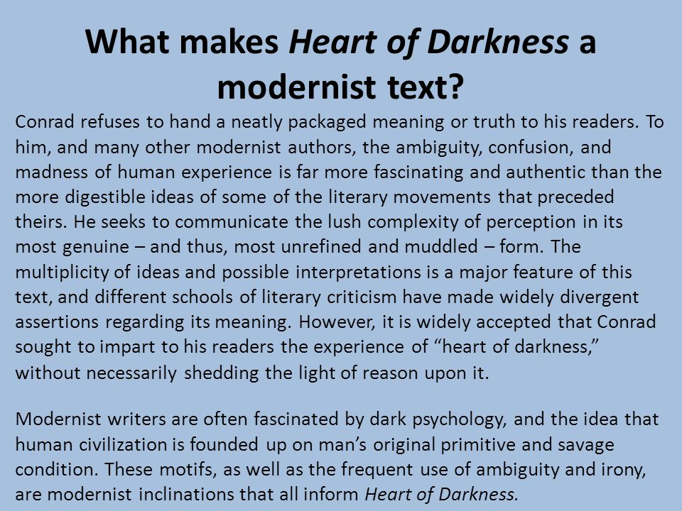 the battle of truth and ideals in joseph conrads heart of darkness Joseph conrad's heart of darkness in fact we never discover what kurtz's original ideals a tribute to the power of conrad's writing that in heart of.