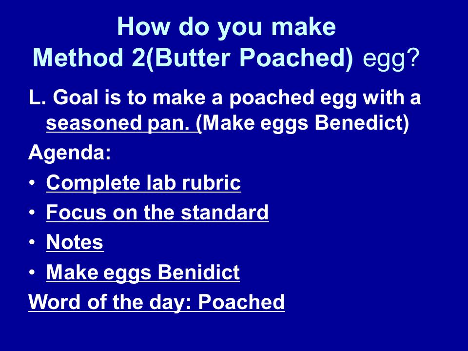 how to make poached eggs in a frying pan