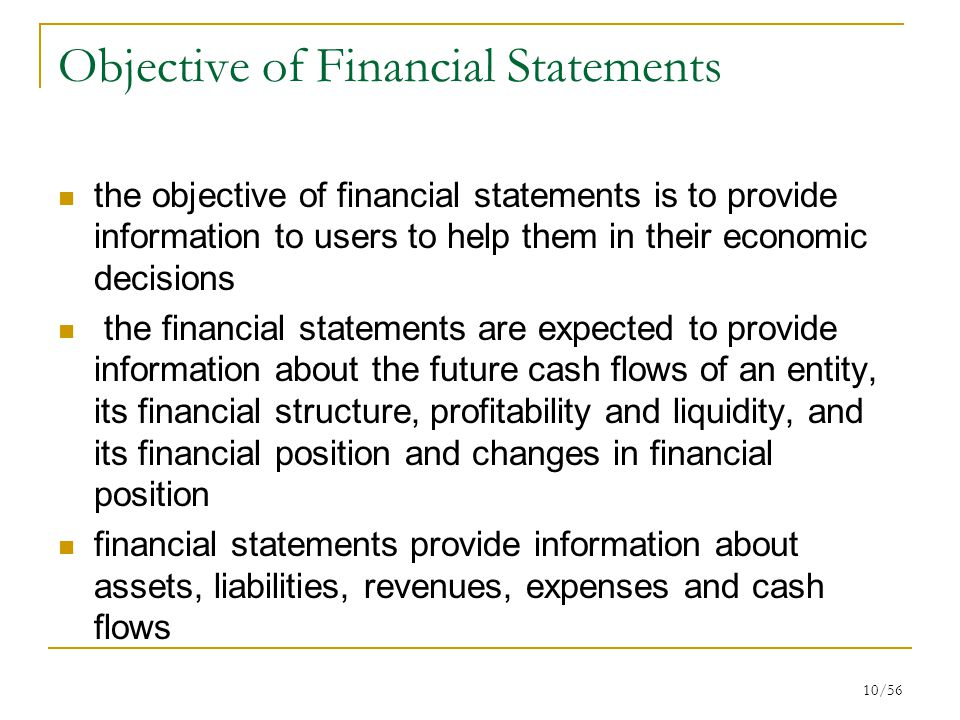 users of financial statement their information Financial reporting is an important part of your business at various levels  it  gives you important information you can use to make business.