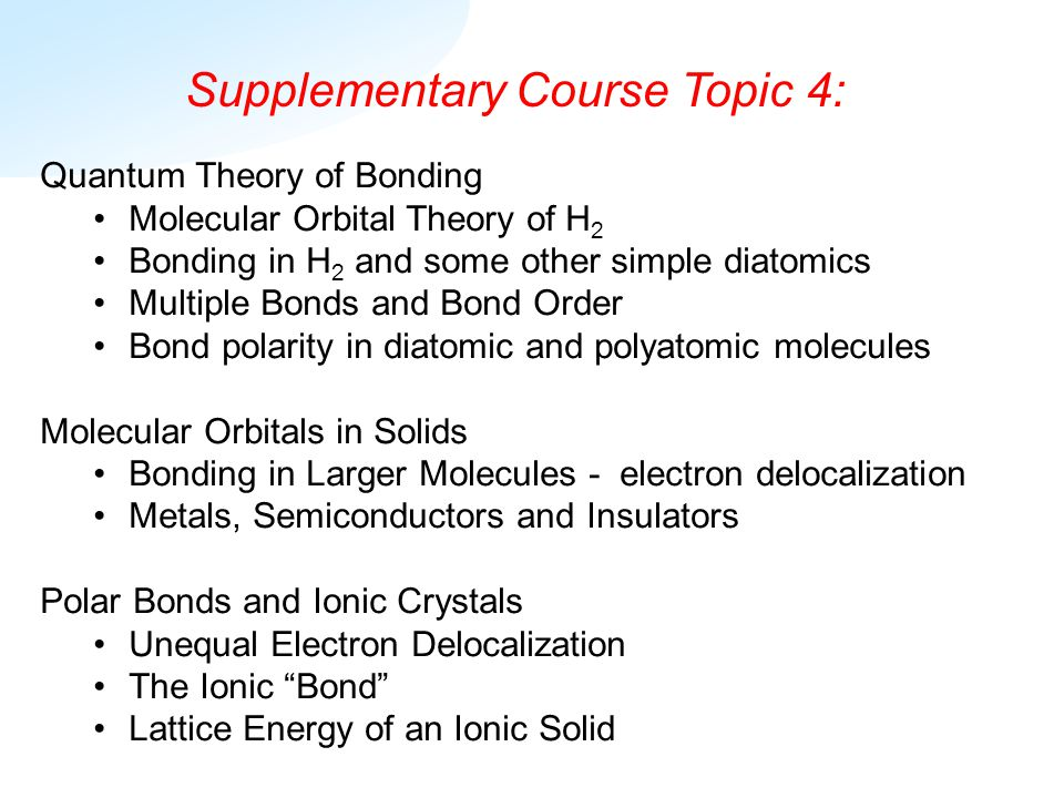 supplementary course topic ppt  supplementary course topic 4