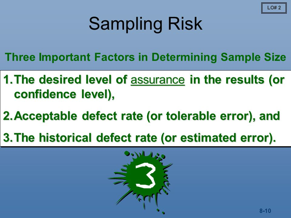 Three Important Factors in Determining Sample Size