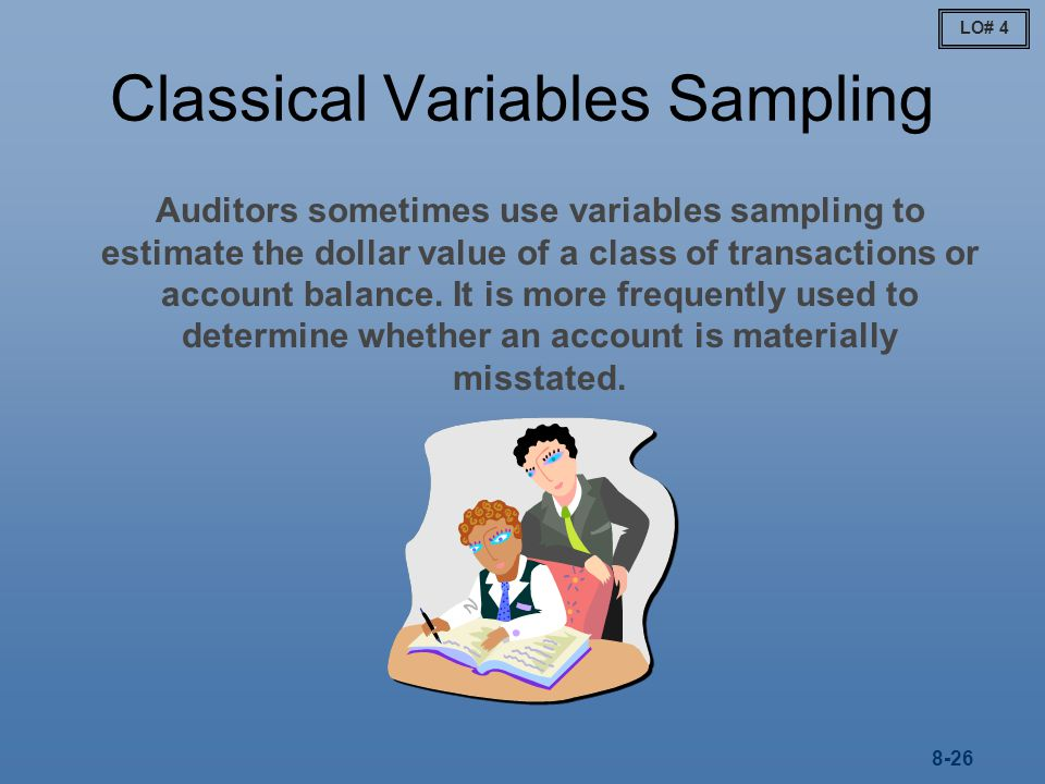 Classical Variables Sampling