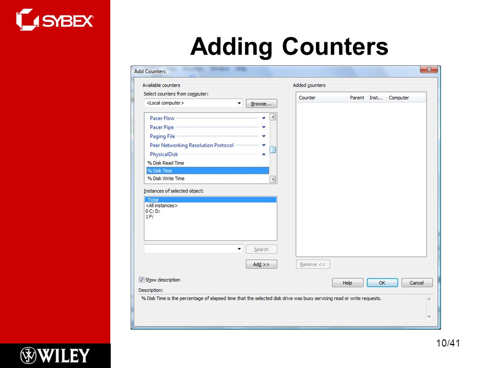 Adding Counters