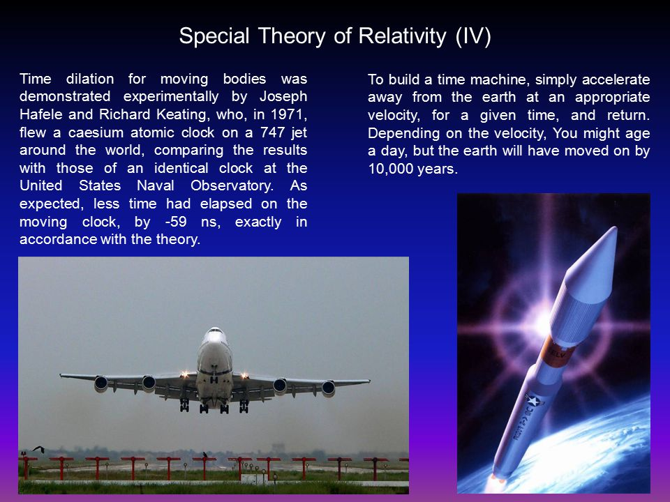 special theory of relativity pdf