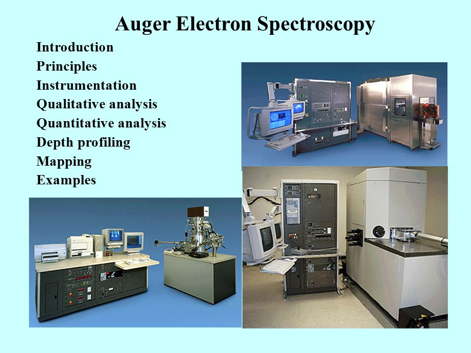 Auger Electron Spectroscopy (AES) - ppt video online download