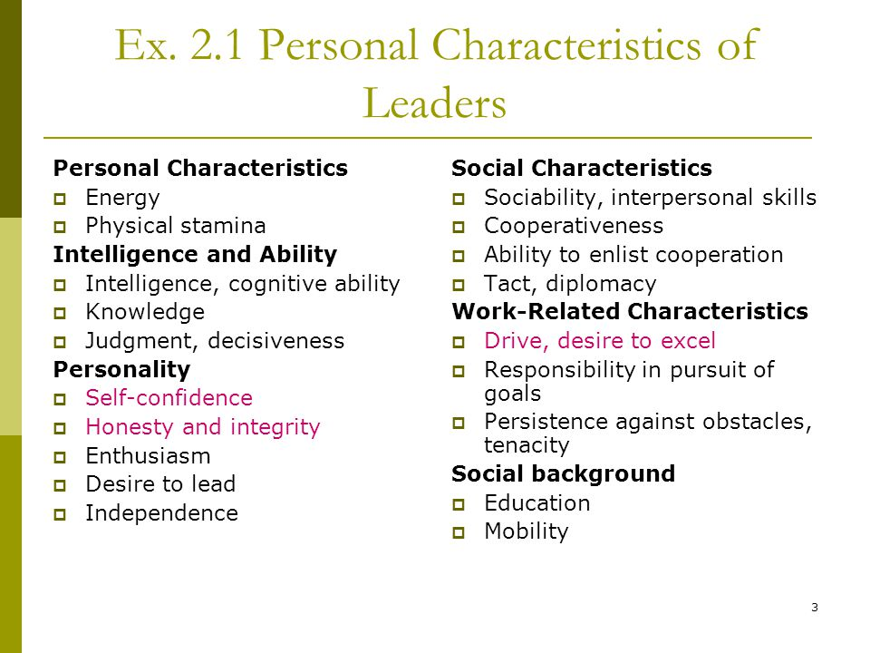 Online dating personal characteristics