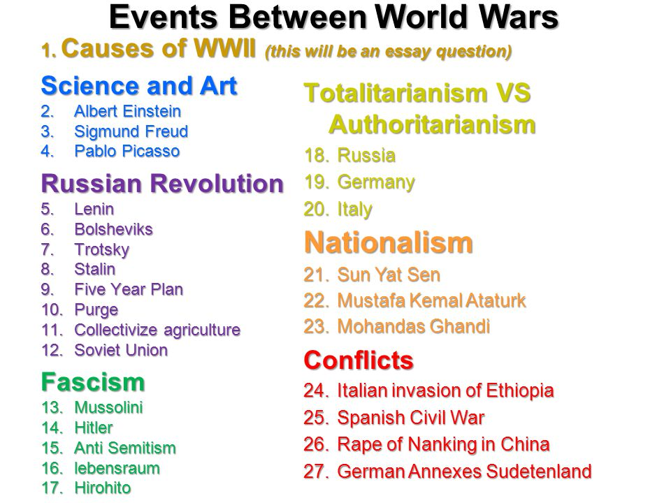 causes of world war 2 thesis Cause and effects of world war 2 essays september 1, 1939, a day that would change the world forever it was the start of world war 2 germany had invaded poland and introduced its self to the world as a powerful war machine.