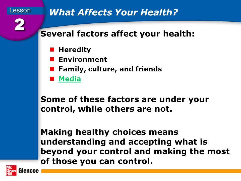What personal factors can affect your