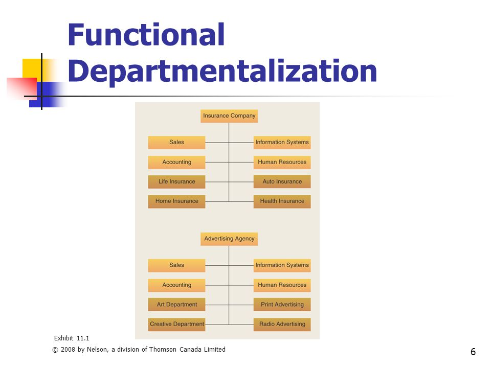 management and departmentalization Geographic departmentalization geographic departmentalization is the process of grouping activities on the basis of territory if an organization's customers are geographically dispersed ©2018 bms - bachelor of management studies community.