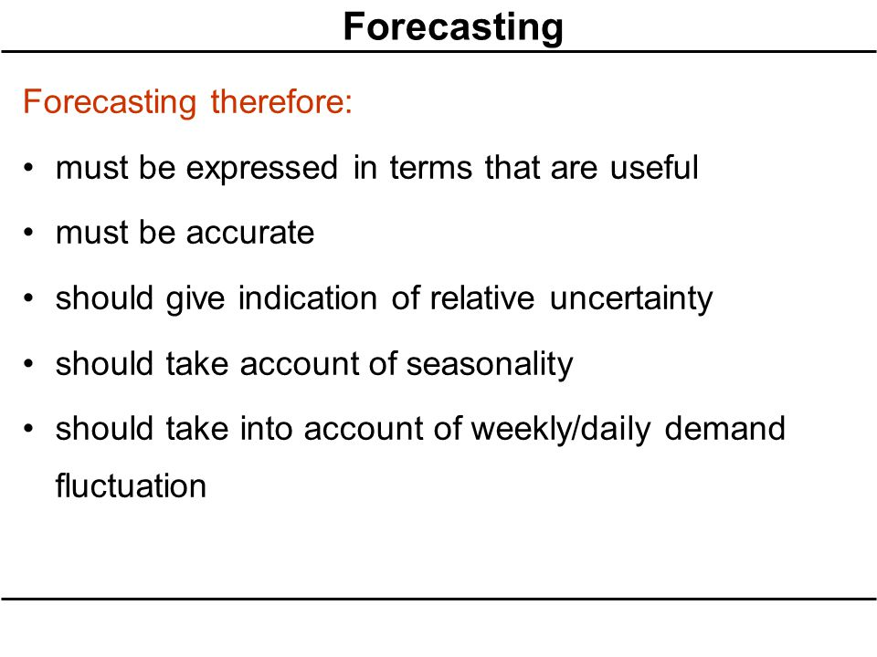 forecasting demand fluctuations 3 days ago  learn how demand forecasting can have a significant positive  a time series analysis is useful for identifying seasonal fluctuations in demand,.