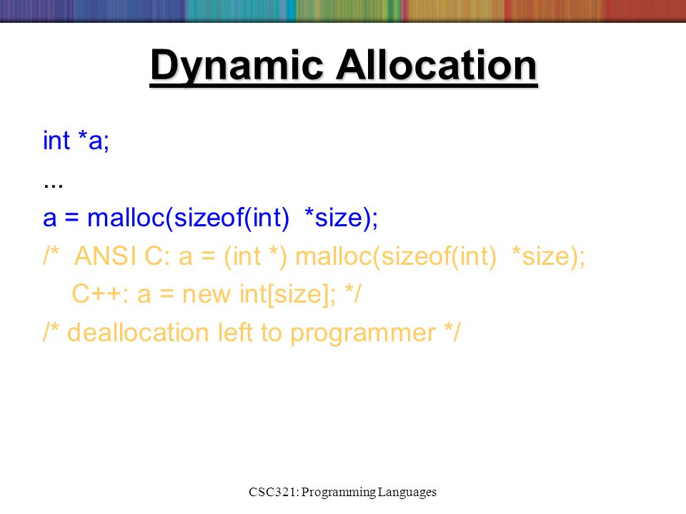 Programming languages tucker and noonan ppt video online Ansi c compiler online