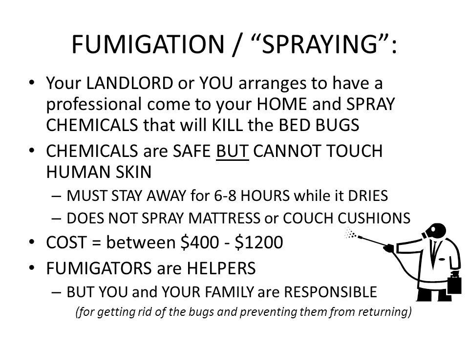 preparation for fumigation - ppt video online download