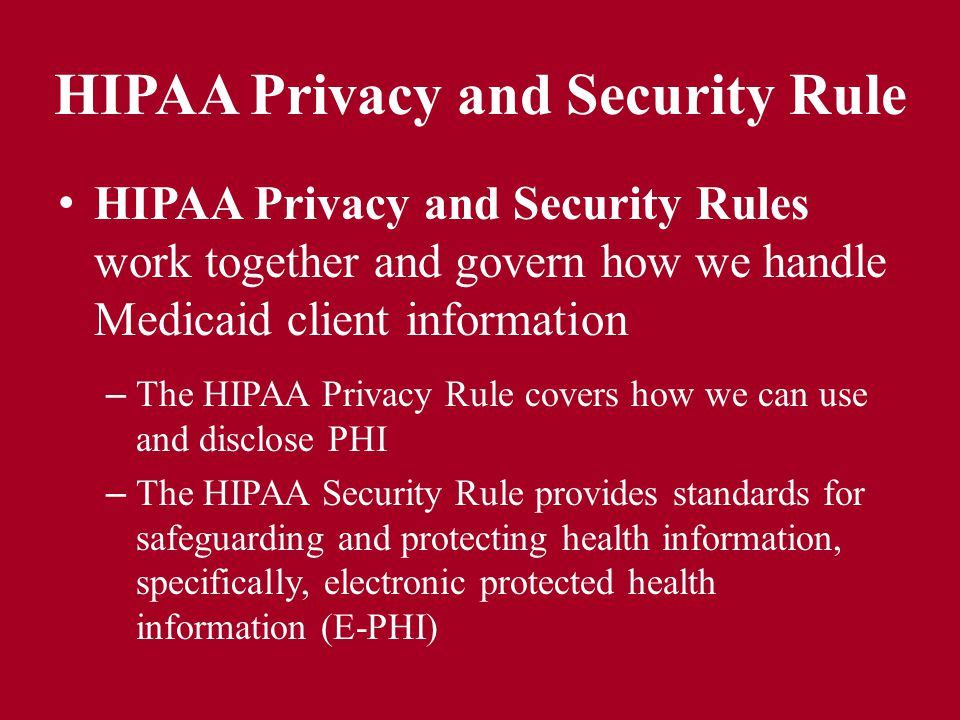 hipaa health the privacy rule and Discover how the department of health and human services enforces hipaa's privacy and security rules and how  hipaa violations & enforcement  health care .